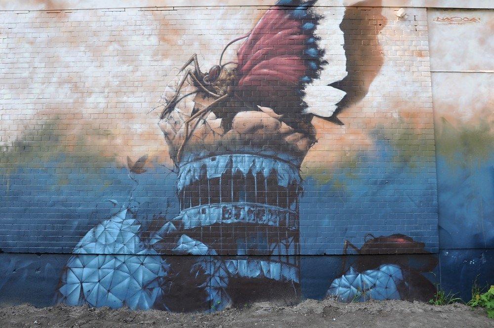 Street Art Teufelsberg