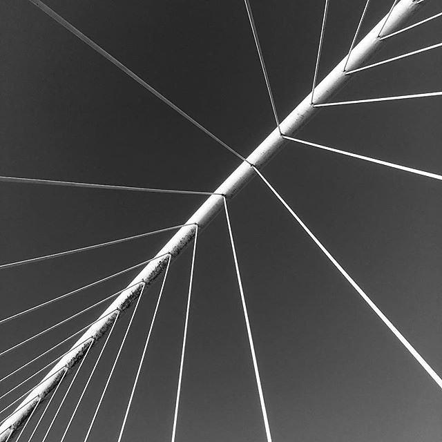 #bilbao #calatrava #bridge #abstractmybuilding #rsa_minimal #minimalism #minimalobsession #linedesire #realandabstract #bnw_capture #bnw_minimal #minimalarchitecture #archilovers #archi_unlimited #mobiography_challenge_5 #minimalmood #moodcommunity #minim